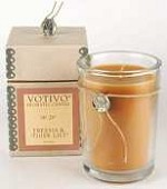 Votivo candle-Freesia & Tiger Lily