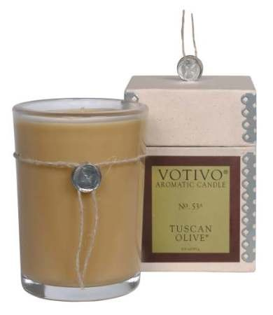 Votivo Tuscan Olive Candle