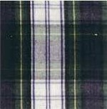 Waratah Merino Wool Stadium Fringed Blanket. Tartan-Dress Gordon