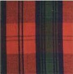Waratah Merino Wool Stadium / Picnic Blanket Fringed on two ends. Tartan-Lindsay.