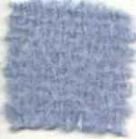 Waratah Mohair Pile Blanket Satin-Bound -2 ends Twin -Powder Blue.