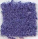 Waratah Luxury Pure Mohair Pile Throw Fringed on two ends. Solid-Marine