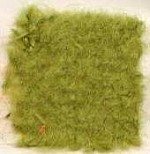 Waratah Luxury Pure Mohair Pile Throw Fringed on two ends. Solid-Deep Moss.
