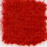 Waratah Luxury Pure Mohair Pile Throw Fringed on two ends. Solid-Carmine Red.