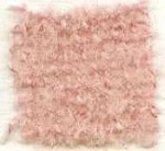 Waratah Luxury Pure Mohair Pile Throw Fringed on two ends. Solid-Rose.