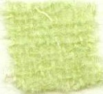 Waratah Luxury Pure Mohair Pile Throw Fringed on two ends. Solid-Spearmint.