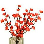 Red Plum Tree Flower Lights 60 Bulbs -Light Garden