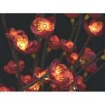 Burgundy Plum Tree Flower Lights 96 Bulbs -Light Garden