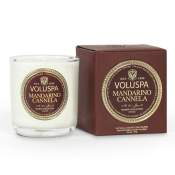 Voluspa Mandarino Canella Boxed Votive in Glass