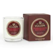 Voluspa Pomegranate Patchouli Boxed Votive in Glass