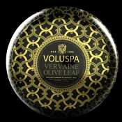 Voluspa Vervaine Olive Leaf 2 Wick Candle Tin