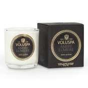 Voluspa Ambre Lumiere Boxed Votive in Glass
