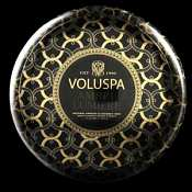 Voluspa Ambre Lumiere 2 Wick Candle Tin