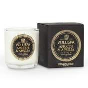 Voluspa Apricot & Aprilia Boxed Votive in Glass