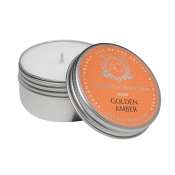 AQUIESSE Golden Amber Soy 20 Hr Travel Tin Candle