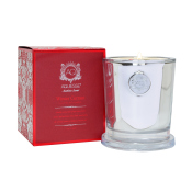 Aquiesse Winter Currant Holiday Soy Candle-Silver