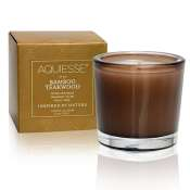 Aquiesse Bamboo Teakwood Boxed Votive