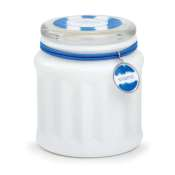Archipelago Marine Candle-White Glass Jar
