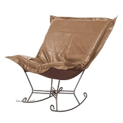 Howard Elliott puff rocker-Avanti Bronze