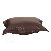 Howard Elliott puff ottoman cover with cushion-Avanti Pecan