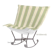 Chicago Textile Puff Rocker-Baja Willow-Indoor