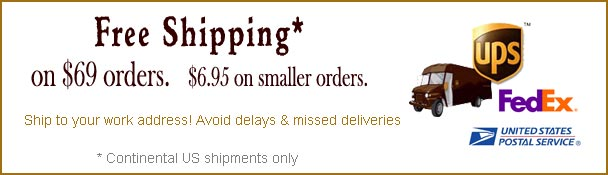 Free Shipping on $69 orders
