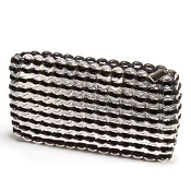 Chica Rosa Clutch-black by Escama Studio