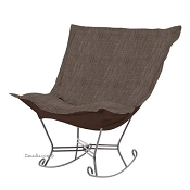 Howard Elliott puff rocker-Coco Slate