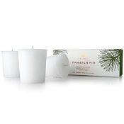 Thymes Frasier Fir Set of 3 Refill Votives