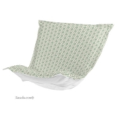 CTC Puff Chair replacement cover with cushion-Geo Seamist-Patio