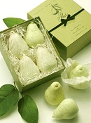 Four Pears in a BOX luxury soap by Gianna Rose Atelier
