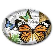 Michel Design Soap-Candy Dish-Butterfly
