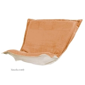 CTC puff chair replacement cover with cushion-Microsuede Tangerine