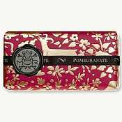 Mor Italian Pomegranate Emporium Soap Bar