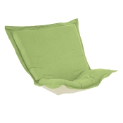 Puff Chair replacement cover with cushion-Linen Slub Grass