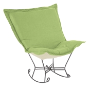 Howard Elliott Puff Rocker-Linen Slub Grass