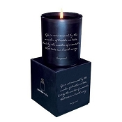 <i>Life Is Not Measured</i> Quotable Candle- Wild Currant scent