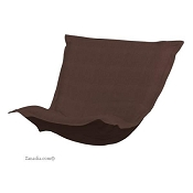 Puff Chair replacement cover with cushion-Sterling Chocolate