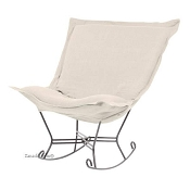 Howard Elliott Puff Rocker-Sterling Sand