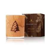 Thymes Frasier Fir Wood Wick Candle