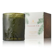 Thymes Frasier Fir Candle-Green Glass