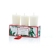 Seda France Set of Three Votives-Holiday
