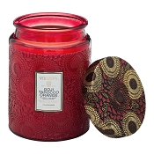 Voluspa Goji & Tarocco Orange Large Glass Jar Candle