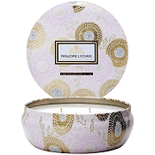 Voluspa Mokara 3 Wick Candle Tin