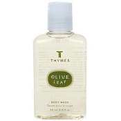 Thymes Olive Leaf 2oz Body Wash