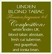 Voluspa 4 oz Candle-Linden Blond Tabac