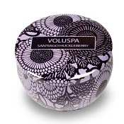 Voluspa Travel Candle Tin - Santiago Huckleberry