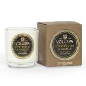 Voluspa Citron Vert Boxed Votive in Glass