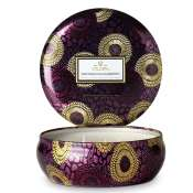 Voluspa Santiago Huckleberry 3 Wick Candle Tin-Ltd Edition