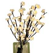 White Plum Tree Flower Lights 60 Bulbs -Light Garden